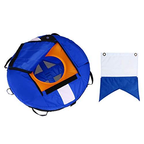 lahomia Boya de Apnea con Bandera de Buceo para Pesca Submarina - Azul