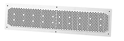 Duraflo 641604 Soffit Vent, 16-Inch by 4-Inch, White