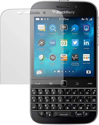 dipos I 2X Schutzfolie matt kompatibel mit BlackBerry Classic Folie Bildschirmschutzfolie