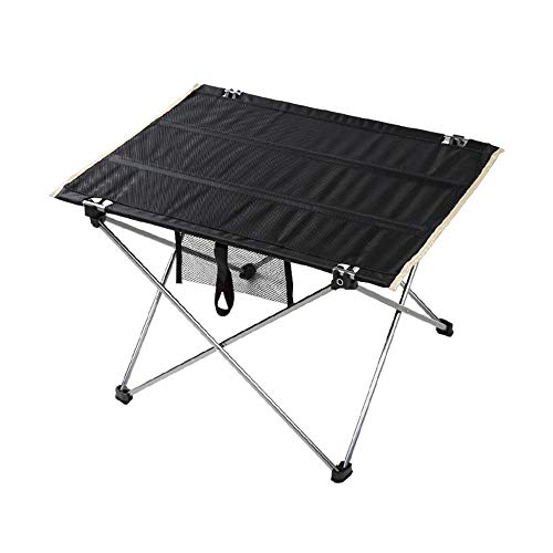 WYYH Campingtisch Klappbar Leicht, Aluminiumlegierung Camping Klapptisch Leicht Zu Tragen Und Sauber Zu Wischen Klapptisch Tisch Klappbar Verwendet Für Picknick Camping Strand Angeln Grill Small
