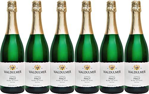 Waldulmer Winzergenossenschaft Pinot Blanc de Noir Sekt 2018 Trocken (6 x 0.75 l)