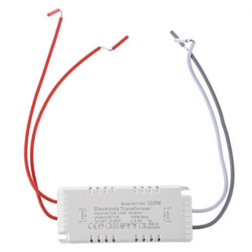 Huante - Transformador electrónico (12 V, 105 W, 220 - 240 V)