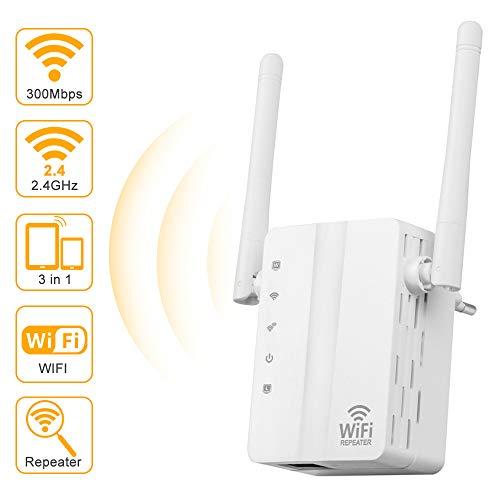 Lankerx Amplificador Señal WiFi - Repetidor WiFi