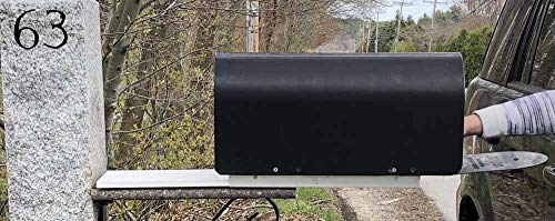 "New Invention. Great Gift""Slide Me Out"" Mailbox Extension Bracket. Slide Mailbox to You or Edge of Snow Bank. in Your Car? Slide Box to You, Reduces Stretching Out of The car Window."