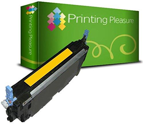 Printing Pleasure Toner kompatibel zu Q6472A für HP Color Laserjet 3600 3600DN 3600N 3800 3800DN 3800DTN 3800N CP3505 CP3505DN CP3505N CP3505X - Gelb, hohe Kapazität