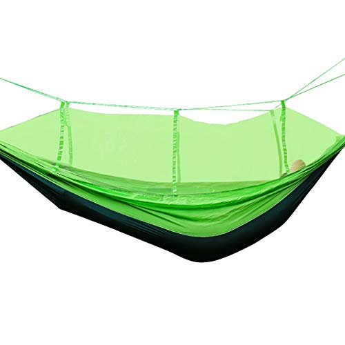 XBDC Hammock Stand,freestanding Hammock Hammock Frame Only Mosquito Net Hammock Outdoor Double Rollover Camping Swing Parachute Cloth Light Tearproof Send Rope