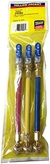YELLOW JACKET 25980 Flex Flow Adapter Hose Set, 1/4