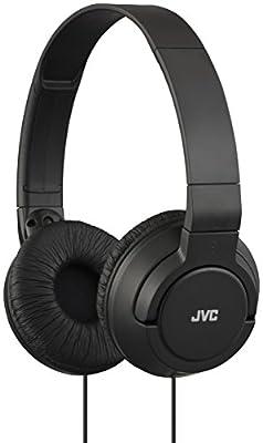 JVC Foldable Lightweight Powerful Bass Over-Ear Headphones - Black by JVC