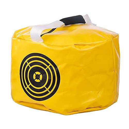 ACHIX Golf Impact Power Smash Bag Hitting Bag, Training Equipment,Golf Gifts for Men, Durable Waterproof-Yellow
