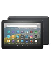 "Fire HD 8 Tablet, 8"" HD display, 32 GB, Black - with Ads, designed for portable entertainment"