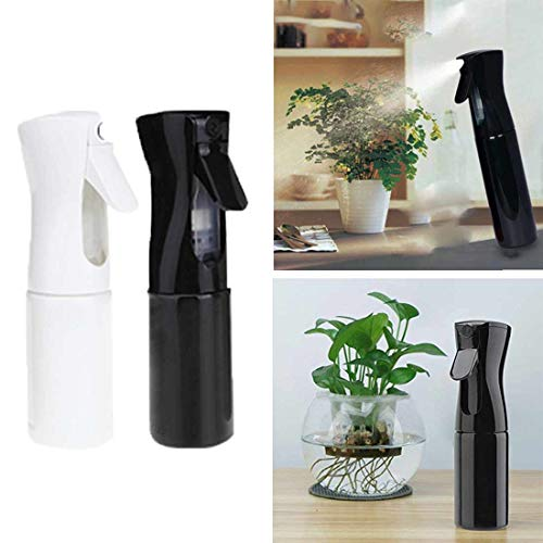Vihax Hair Spray Bottle Empty Plastic Trigger Spray Bottle Refillable Fine Mist Sprayer Bottle for Hair Styling, Cleaning, Garden Continuous Water Mister