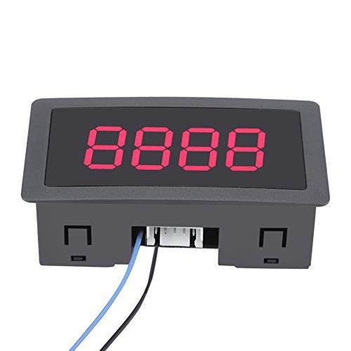 Automatische digitale Zähler Mini Auf/Ab Plus/Minus-Panel mit Kabel (rot)