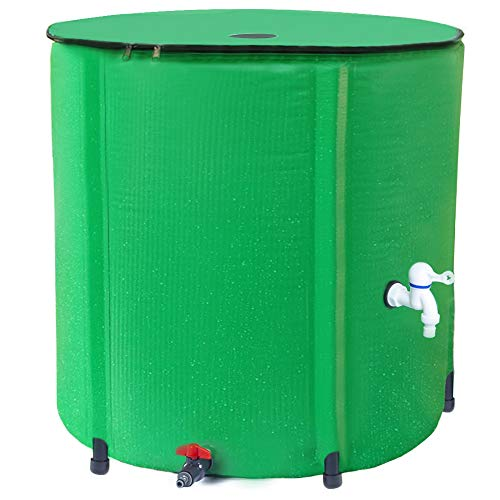 Collapsible Rain Barrel,100 Gallon Foldable Rainwater Collection System