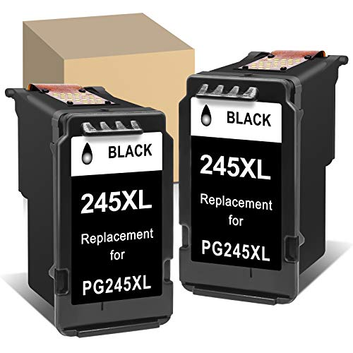 ATOPolyjet Remanufactured Ink Cartridge Replacement for Canon PG-245XL 245 XL PG-243 243 Used for Pixma MX490 MX492 MG2520 MG2920 MG2922 MG2924 MG2420 MG2522 MG2525 MG2555 MG3020 TS3100 Printer