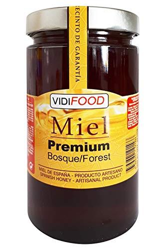 Miel de Bosque Premium - 1kg - Producida en España - Tradicional & 100{47bd02c192844fa119748e2a087181a4bc7501a18fec2600c708d54ea40bb086} pura - Aroma Floral y Sabor Dulce
