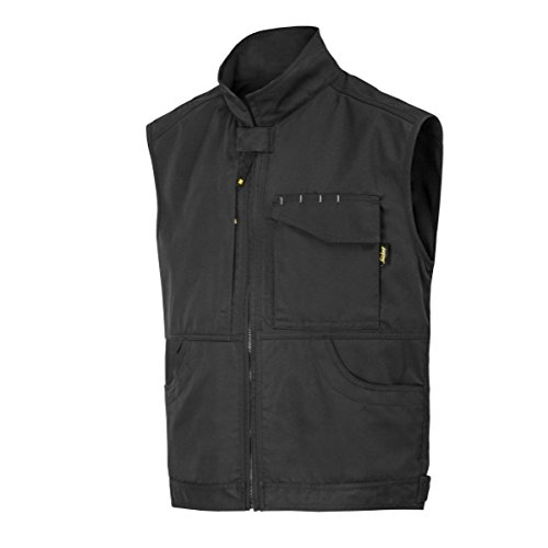 Snickers Workwear 4373 Arbeitsweste Service Weste scwharz Gr. M, schwarz, 5