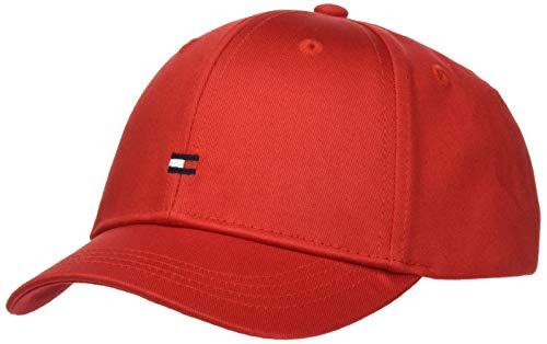 Tommy Hilfiger Unisex Kinder BB Cap Hut, Deep Crimson, X-Large