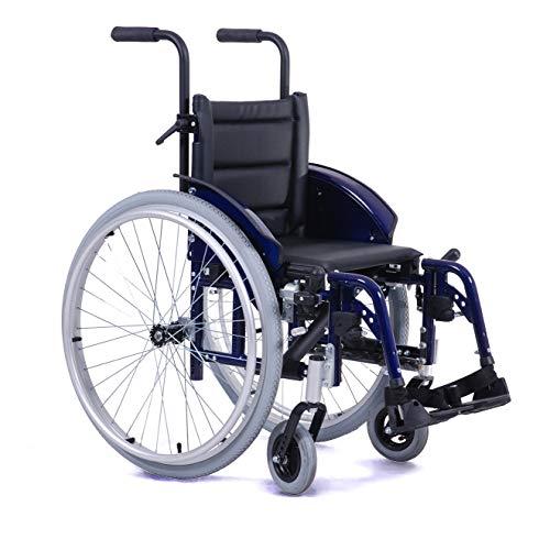 Rollstuhl Adaptivkinderrollstuhl Kinderrollstuhl | Sitzbreiten 32 cm - 37 cm| Maximale Belastbarkeit: 80 kg | Vermeiren ECLIPS X4 KIDS (Sitzbreite 37cm)