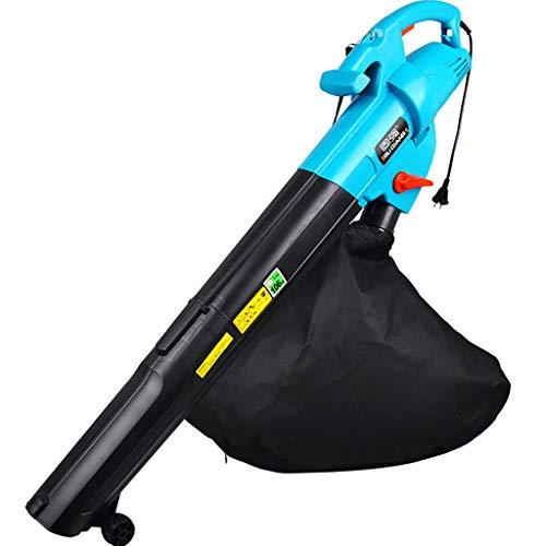 SILOLA Soplador de Hojas eléctrico de 3000 vatios/barredora con Bolsa/se Puede Utilizar como Hoja de succión/Hojas triturables/bajo Ruido