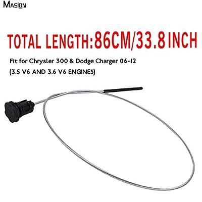 MASION Transmission Locking Dipstick Level Tube Fluid ATF for Chrysler 300 & Dodge Charger 06-12 3.5 V6, 3.6 V6