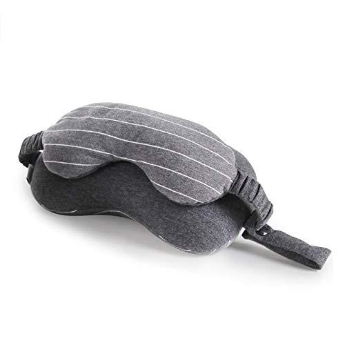 QHDM Creatief Multi-Purpose Oogmasker Nek Gooit Kussen Slaapmasker Kussen Voor Reizen Schuim Deeltjes Vullen Beste Gift