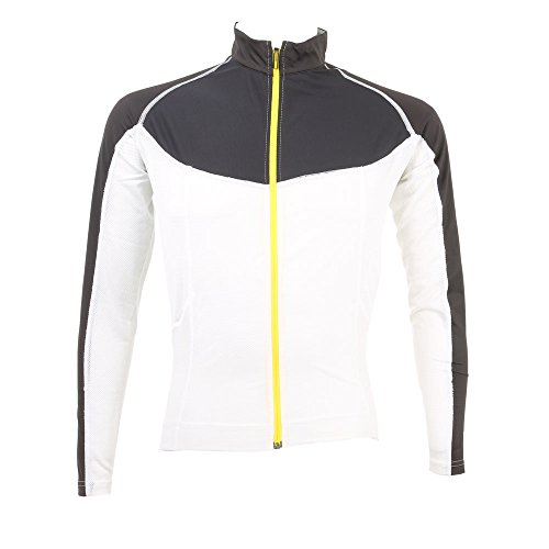 MAVIC - Ksyrium Pro LS Jersey, Color Blanco,Negro, Talla S