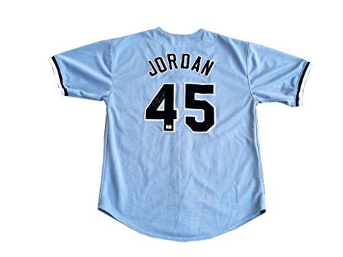Michael Jordan Signed Chicago White Sox Jersey COA