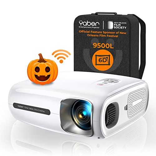 YABER Pro V7 9500L Portable Home Theater Projector