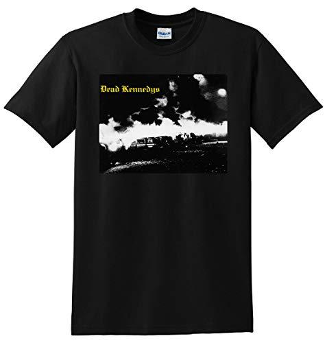 QWZ Dead Kennedys T Shirt Fresh Fruit For Rotting Vegetables Small M L Or XL 3XL Black
