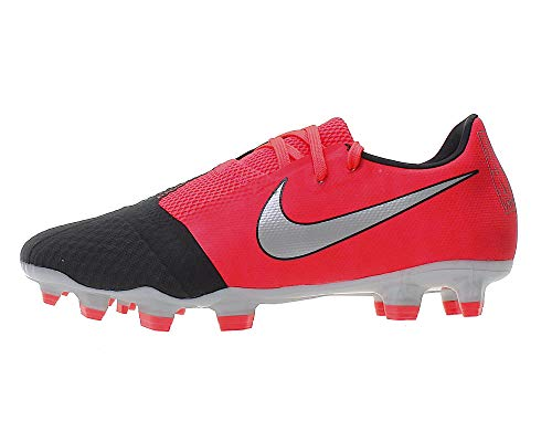 Nike Unisex Phantom Venom Academy FG Fußballschuh, Laser Crimson Metallic Silver, 41 EU