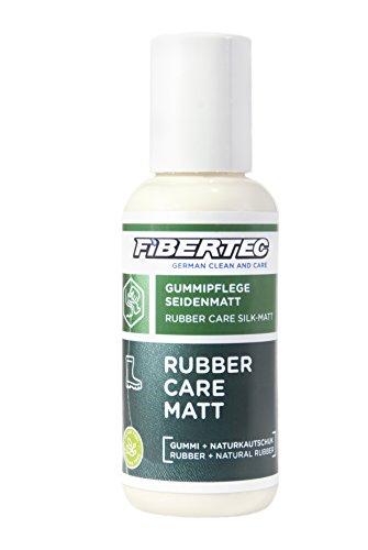 Fibertec Rubber Care Eco Matt Schuhpflege, transparent, 100 ml