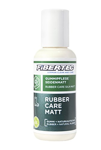 Fibertec Rubber Care Eco Matt Schuhpflege, transparent, 100 ml