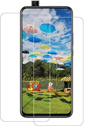 JSCX [2 Stück P Smart Z (2019) Panzerglas,9H Härte Displayschutzfolie [Anti-Kratzen] Anti-Fingerabdruck Gehärtetes Glas für Huawei P Smart Z (2019)