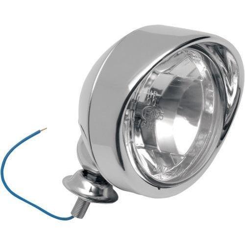 """Drag Specialities Chrom Zusatzscheinwerfer Licht Visier Spot Light 4\"""" Durchmesser TÜV-geprüft"""