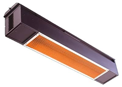 Sunpak S25NGBLK Natural Gas Infrared Patio Heater