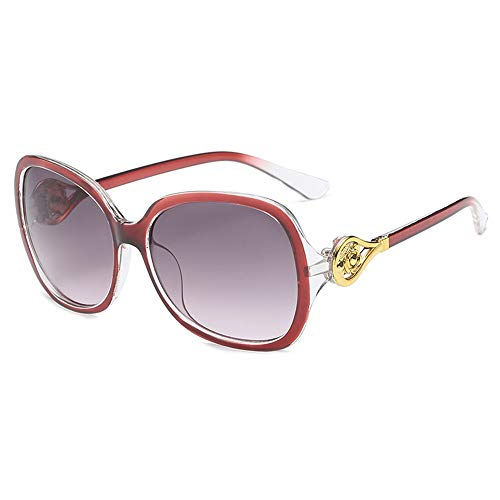 P-WEIAN zonnebril voor dames, elegant, roze, modieus Moyen Boîte rouge