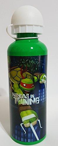 Gourde Turtles Ninja bleu et vert