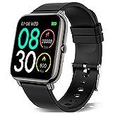 KALINCO Reloj Inteligente Hombre Mujer, Smartwatch Hombre con Oxígeno Sanguíneo Presión Arterial Frecuencia Cardíaca Sueño, Reloj Deportivo para Android iOS