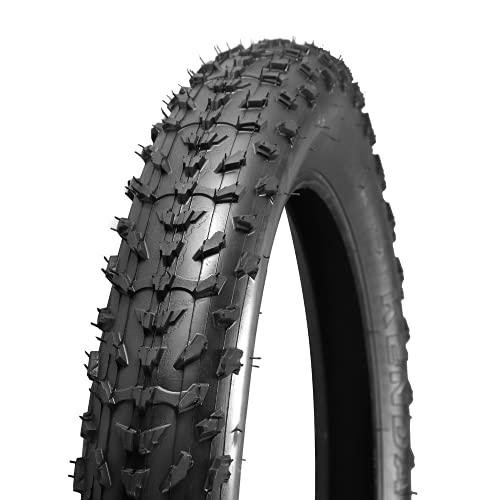 "HULKWHEELS Fat Tire Bike Tire 20"" x 4.0 Snow Bike Tire Mountain Bike MTB Tires Accessory"