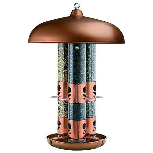 Opus [Perky-Pet]  7103-2 Alimentador de pájaro salvaje Triple Tubo Cooper