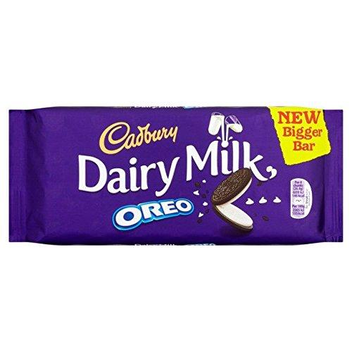 Cadbury Lait De Vache avec Oreo 185G