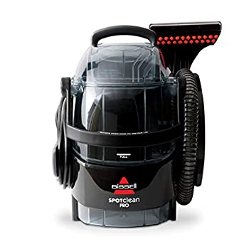 Bissell 3624 Spot Clean Professional Portable Carpet Cleaner - Corded  Black