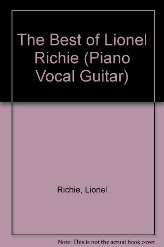 The Best of Lionel Richie (Piano Vocal Guitar)