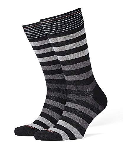 Burlington Herren Blackpool M SO Socken, Blickdicht, Schwarz (Black 3000), 40-46