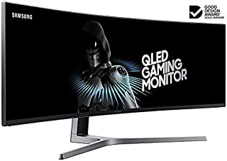 Samsung LC49HG90DMEXXY 49 inch Ultra Wide Curved QLED 144hz Monitor