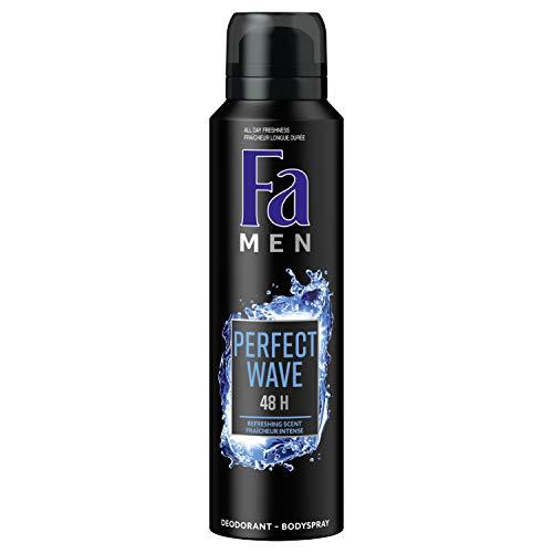 Fa Men - Déodorant - Perfect Wave - Fraîcheur Intense - 150 ml