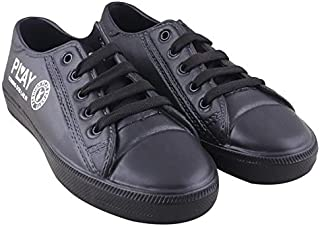 Creation Garg Stylish & Trendy Black Casual Shoes for Men and Boys