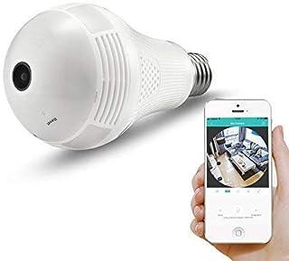 كاميرا 360 درجة رؤية بانورامية واي فاي IP، كاميرا مع عدسة السمكة 360 درجة، رؤية بانورامية 3D VR رؤية المنزل الأمن CCTV كام...