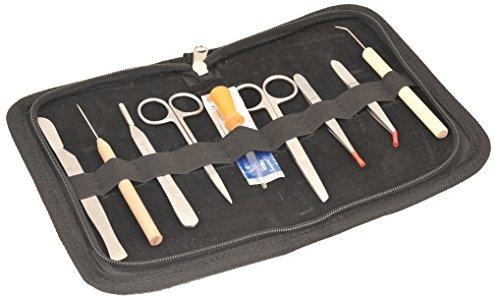 Eisco Kit de disección de laboratorios para uso estudiantil - 9 instrumentos