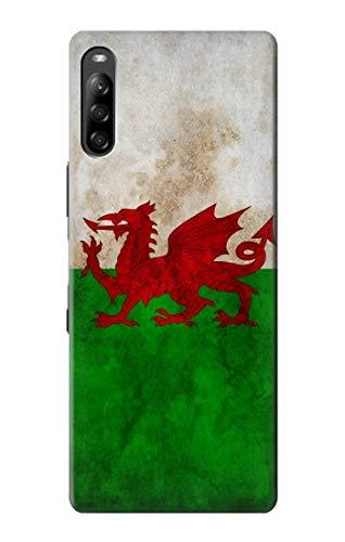 Innovedesire Wales Football Soccer Red Dragon Flag Hülle Schutzhülle Taschen für Sony Xperia L4